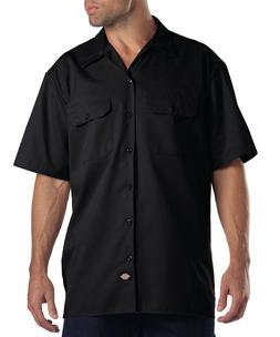 Dickies 1574 Mens Short Sleeve Button Up Work Shirt W/2 Pock