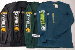 Carhartt 1889 Distressed Graphic Long Sleeve T-Shirt