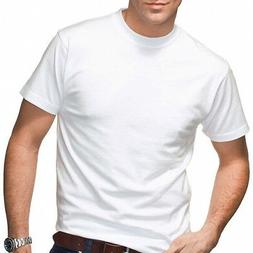 3 Pack Hanes Beefy Cotton T-Shirts WHITE 5180 S-6XL Wholesal