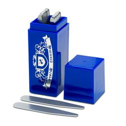 36 Stainless Steel Shirt Collar Stays in Sapphire Box, Order