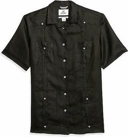 Amazon Brand - 28 Palms Men's Relaxed-Fit Short-Sleeve 100%