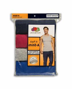 """Fruit of the Loom® BIG MEN'S 4/8 PACK Mix Colors A-SHIRTS """""""