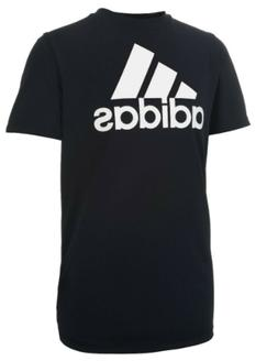 Adidas Boys Climate Performance T Shirt Black Size L 14/16
