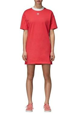 Brand New with Tags ADIDAS Trefoil T-Shirt Dress DH3195 $50