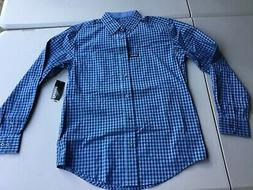 George Button Up Wrinkle Resistant StretcH Dress Shirt Small