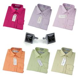 dress shirts men s regular fit oxford