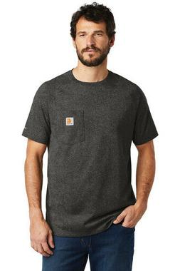 Carhartt Force Cotton Delmont Short Sleeve T-Shirt Tag Free