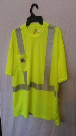 Carhartt Force high-visibility short sleeve t-shirt with ref