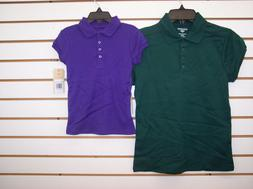 Girls Dockers Assorted Uniform Polo Shirts size 5-12.5/14.5