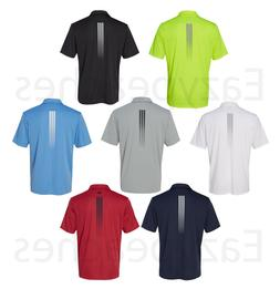 ADIDAS GOLF - Gradient 3-Stripes Polo, Mens Sizes S-3XL, Cli