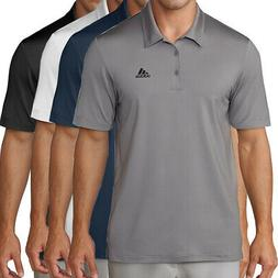 golf men s chest logo solid polo