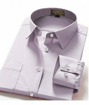 Dress Shirts Fit Long One Pocket Color Shirt