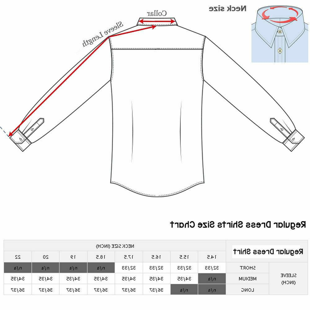 Dress Fit Long Sleeve One Solid Color Shirt