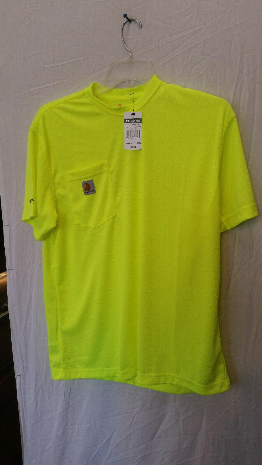 force high visibility short sleeve t shirt