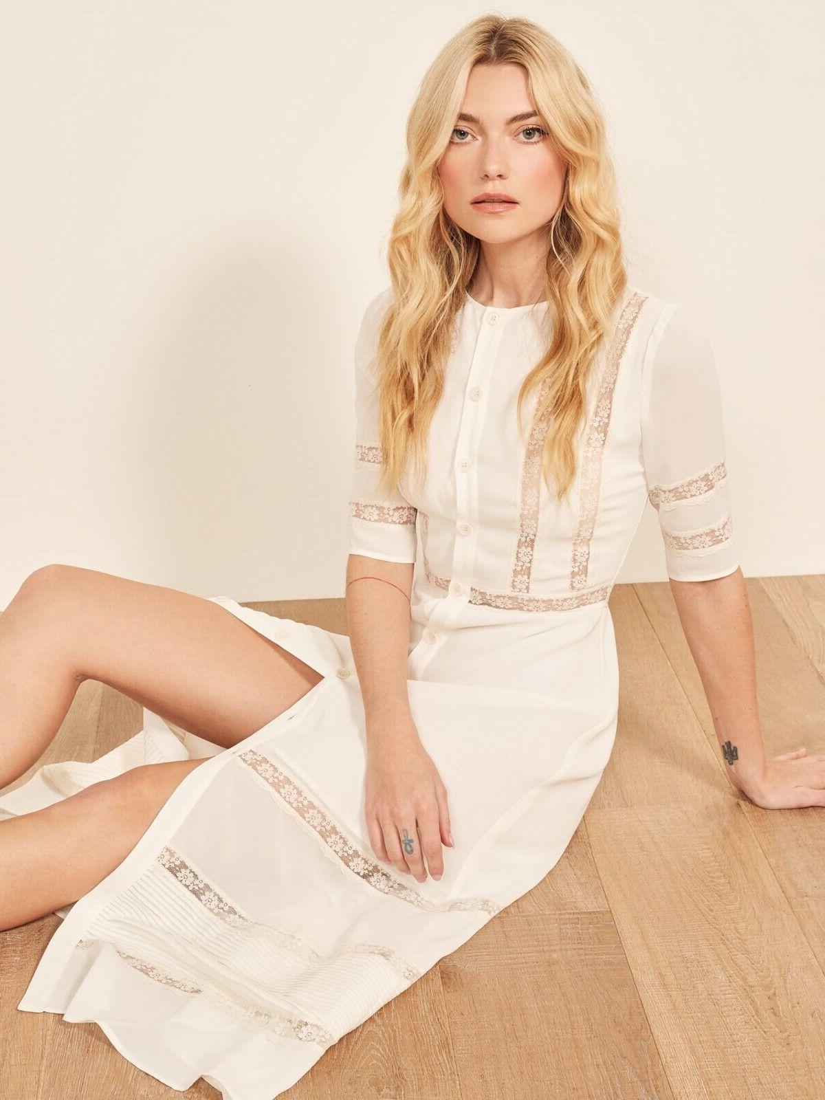 ivory sheer lace inset pintuck surrey crepe