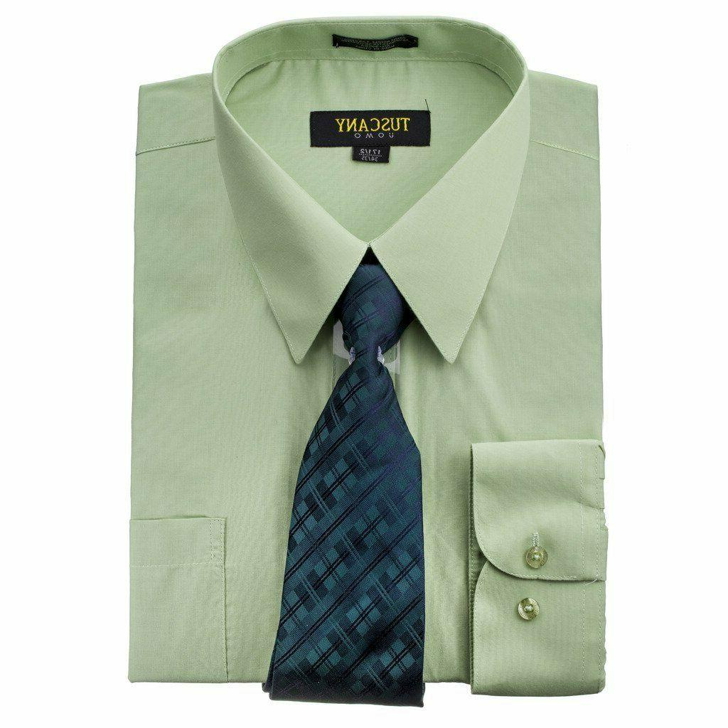 Men's Dress Matching Tie Set Blend