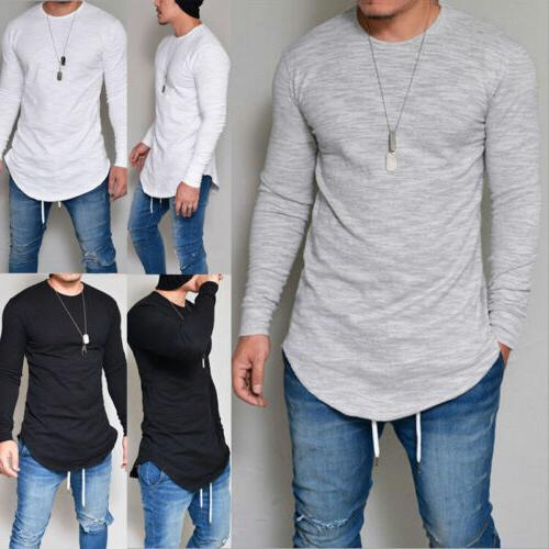 Mens Fit Sleeve Work Casual Long Shirts