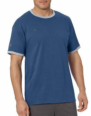 mens classic jersey ringer tee athletic fit