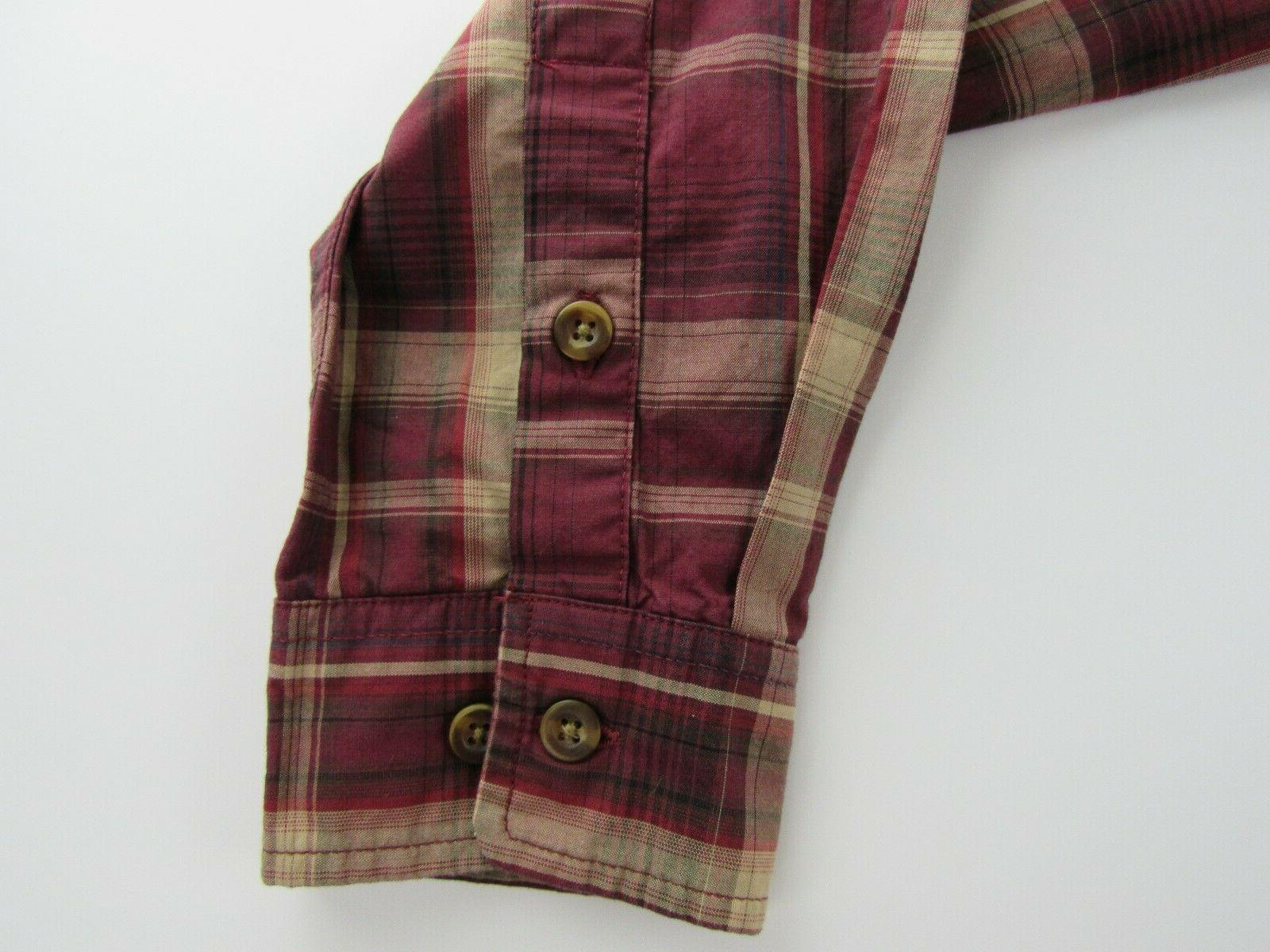 Carhartt S Red Plaid Sleeve Up