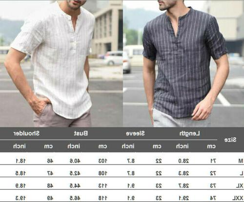 Mens Sleeve T Shirts Casual Soft Tops