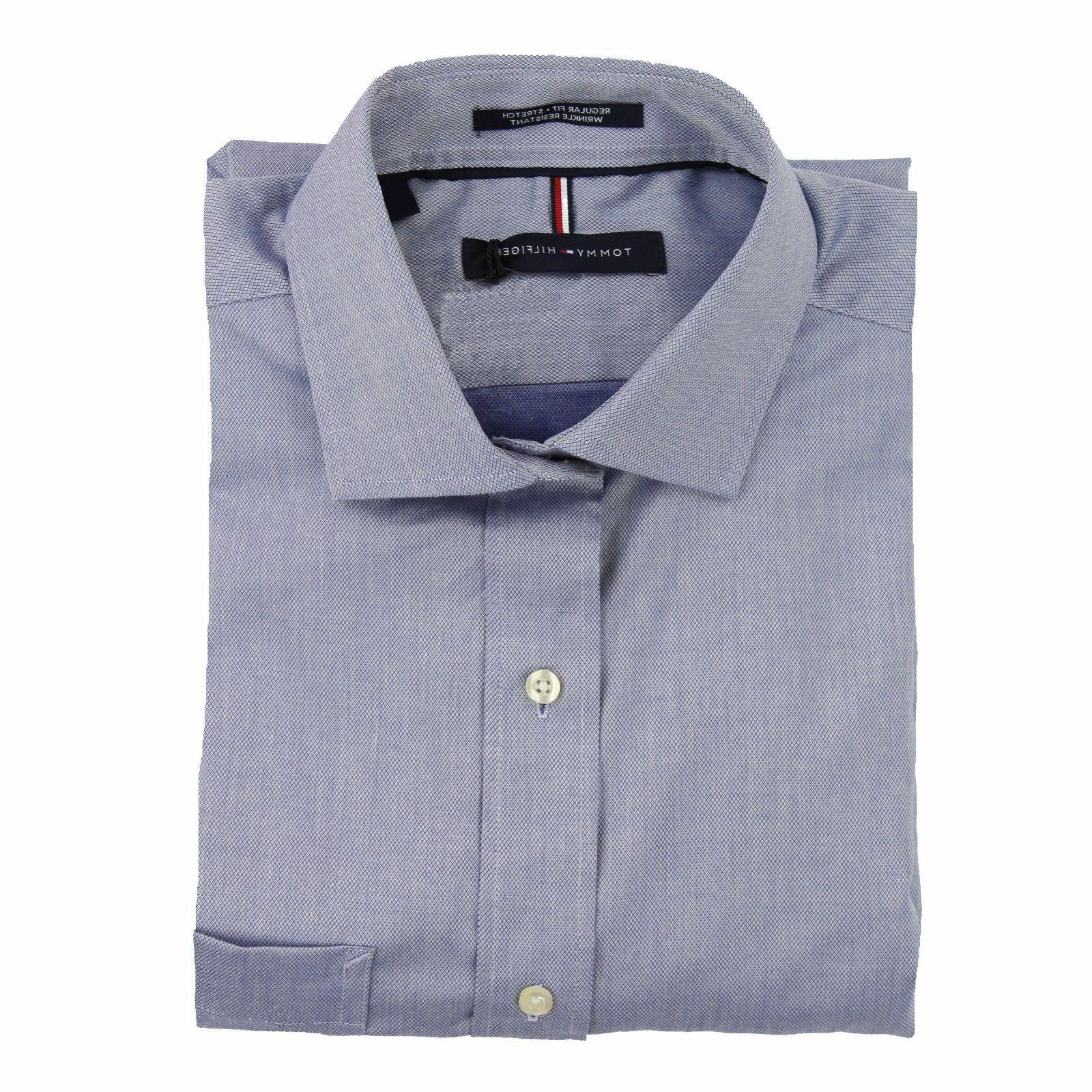 Tommy Hilfiger Fit Wrinkle Resistant Stretch Shirt Variety Sizes