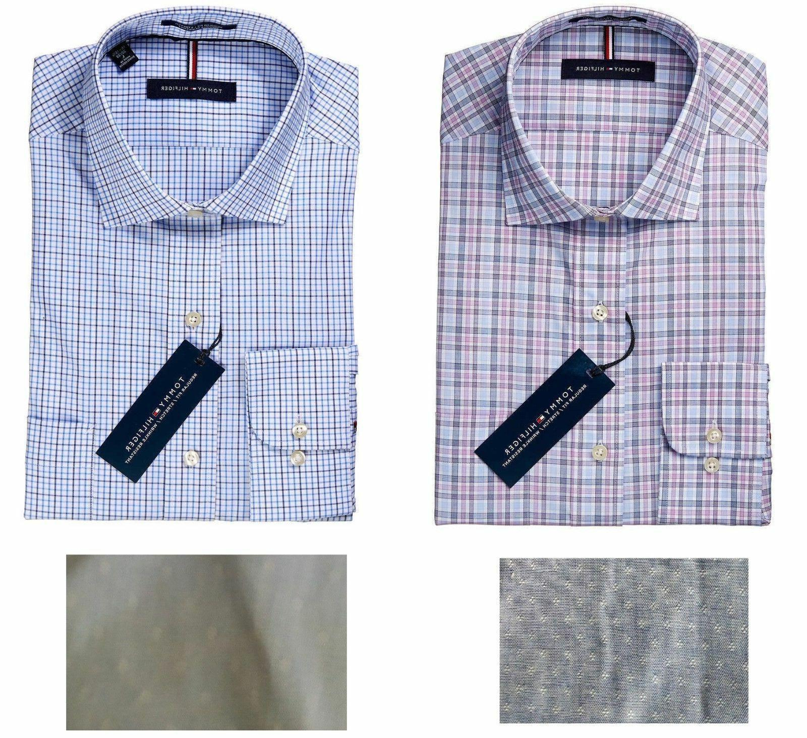 Tommy Men's Fit Wrinkle Shirt Variety Sizes