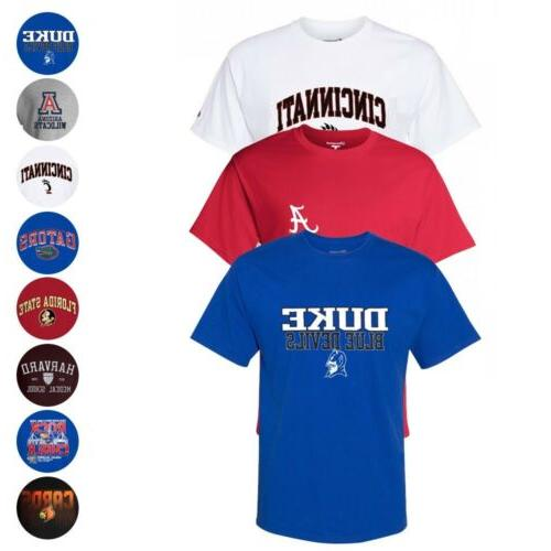 ncaa team logo graphic t shirt collection