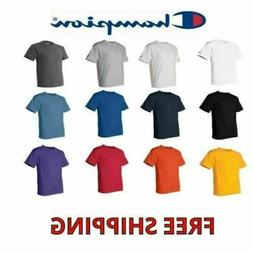 Champion Men's 100% Cotton T-Shirt T425 Tee Choose Size and