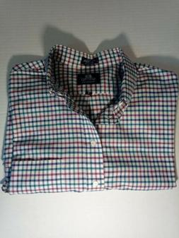 Men's Stafford Big & Tall Button Down Dress Shirt, Wrinkle F