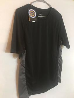 men s black and gray sports shirt
