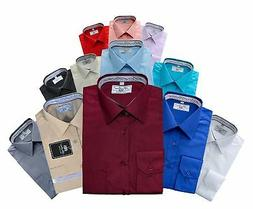 Boltini Italy Men's Collection Long Sleeve Dress Shirts Conv