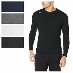 Champion Men's Double Dry Compression T-Shirt Long-Sleeve At