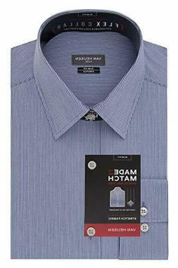 Van Heusen Men's Dress Shirt Flex Collar Slim Fit Stretch St