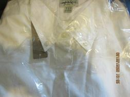 Men's J Crew White Organic Cotton Button Down Dress Shirt X