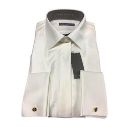 RODRIGO men's shirts ivory wrist with cufflinks 51%viscose 4