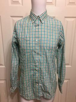Dockers Men's Slim Fit LS Button Front Shirt-S-NWOT-Free Shi