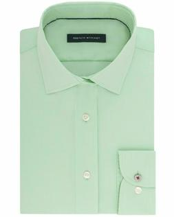Tommy Hilfiger Men's Slim-Fit Non-Iron Spread collar Stretch