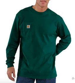 Carhartt Men's Workwear Long-Sleeve Pocket T-Shirt K126