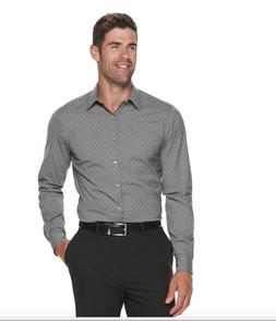 Van Heusen Mens Flex 3 Slim Fit 4-Way Stretch Dress Shirt Gr