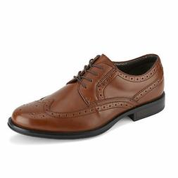 Dockers Mens Wycliff Brogue Dress Wingtip Lace-up Comfort Ox