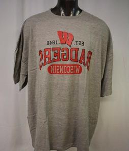 Russell Athletic NCAA Mens Wisconsin Badgers Big & Tall Shir