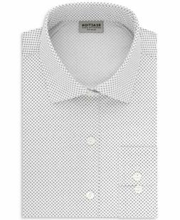 NEW $125 KENNETH COLE REACTION 14.5 32/33 Men's SLIM-FIT WHI