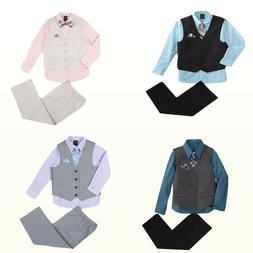 New Dockers Baby/Little Boys' Dress Shirt, Necktie, Vest & P