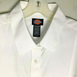 New Dickies work Shirts Mens Large Executive Dress Shirt Lon