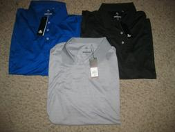 NWT 3-Lot Adidas Golf Men's Polo Shirts XL Casual Dress Loun