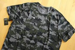 NWT NIKE MEN'S DRI-FIT Big & Tall CAMOUFLAGE Athletic T-Shir