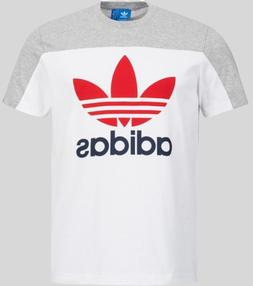 ADIDAS ORIGINAL MEN'S CORE STACK T-SHIRT