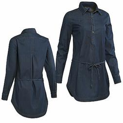 Adidas Originals Women Dress Denim Dress Summer Dress Denim