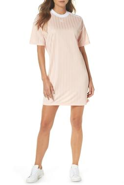 adidas Originals Women's Sporty Trefoil T Shirt Dress Mini S