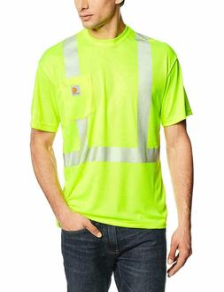 Carhartt Relaxed Fit T Shirt Mens XL Bright Lime Force High